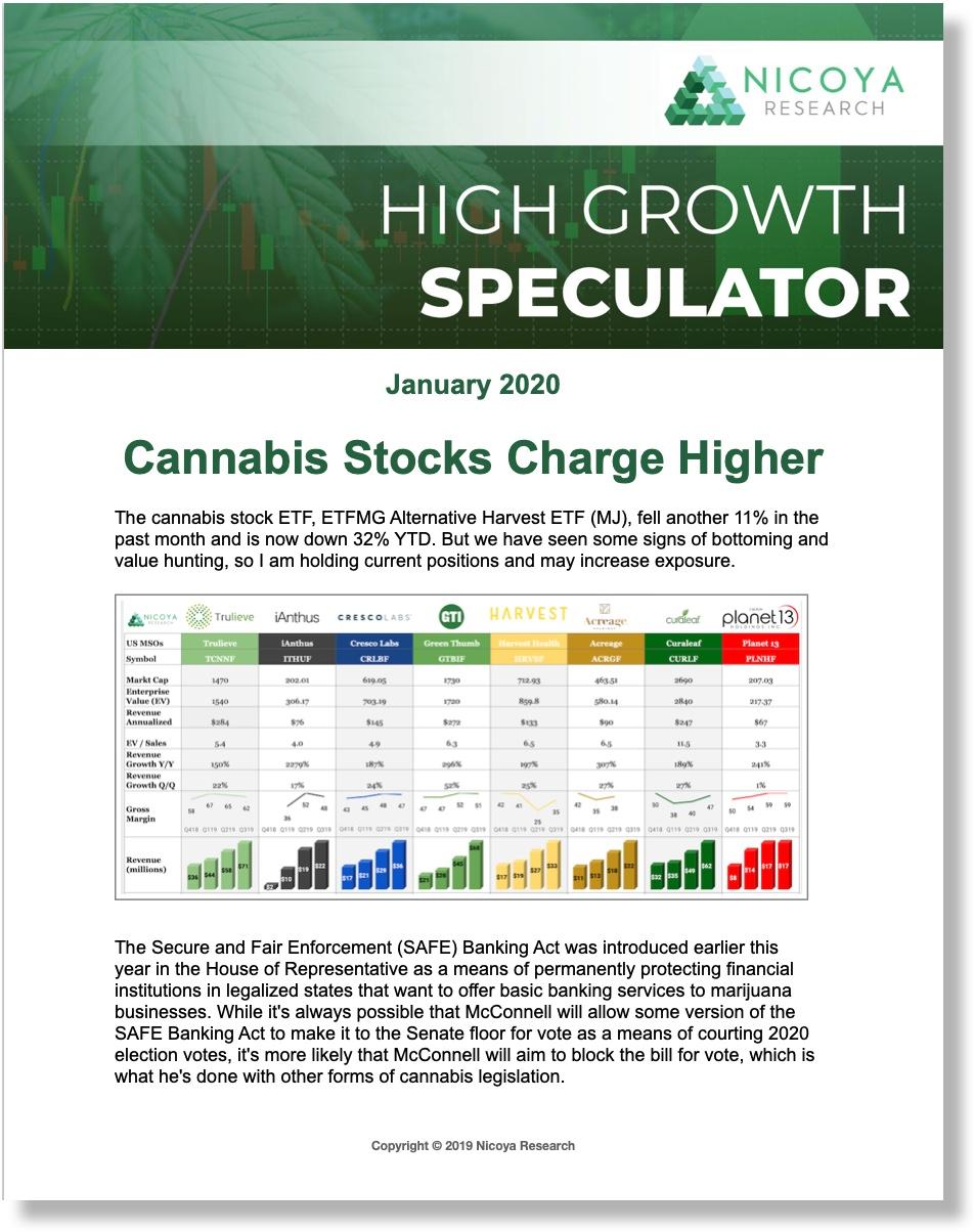 High Growth Speculator Newsletter